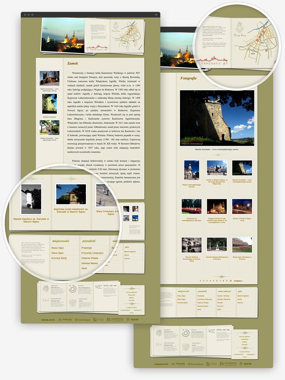 Nowy Sącz z innej strony page details