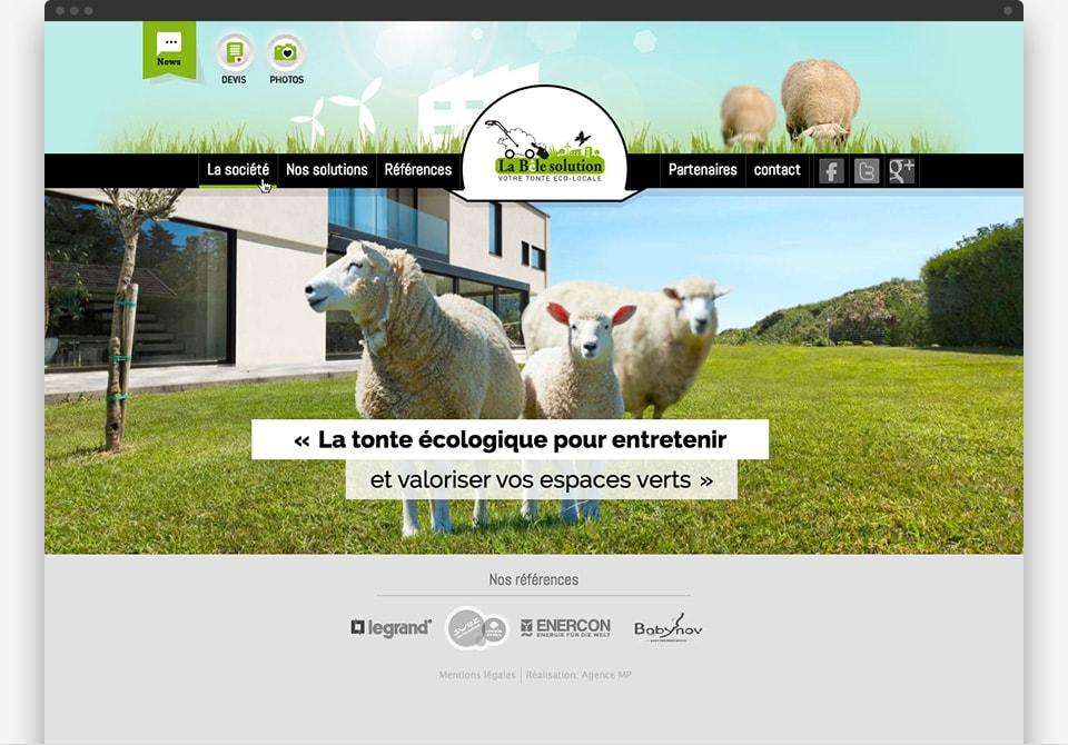 La Bêle Solution home page